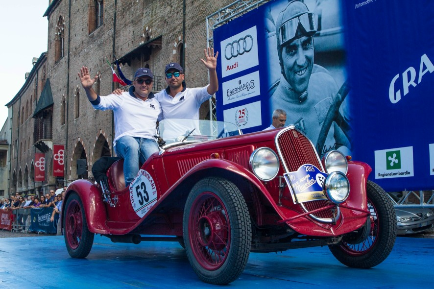 I Vincitori Vesco-Guerrini  foto da Ufficio Stampa GP Nuvolari EQUIPE INTERNATIONAL